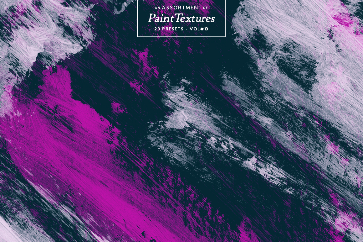20 Assorted Paint Textures - Vol.10 - Inspiration Hut Marketplace